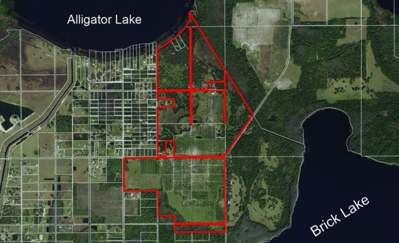 Alligator Lake Waterfront Tract