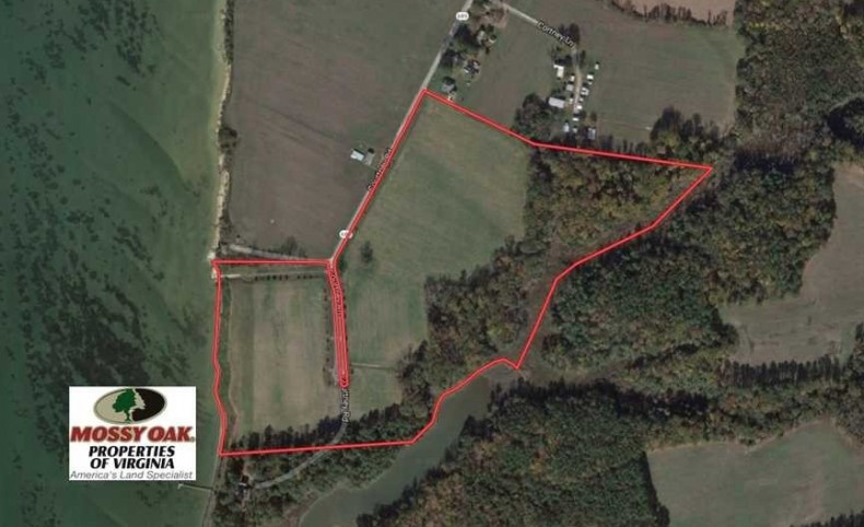 46 Acres Development and Investment Land for Sale in Lancaster County VA!