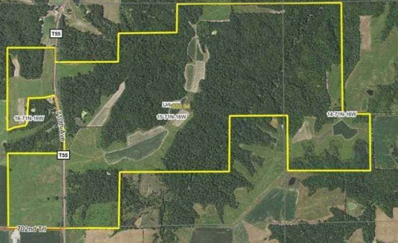 647 Acres m/l, Land for Sale in Monroe County, IA