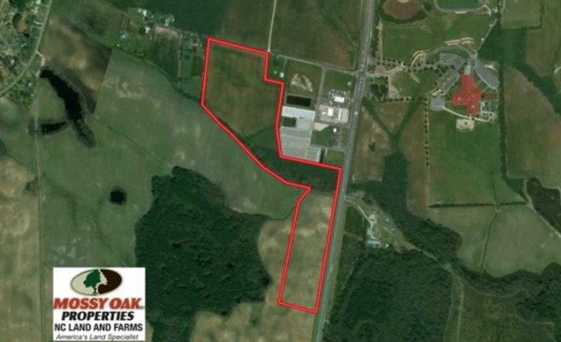 33.9 Acres of Commercial Land For Sale in Onslow County NC!