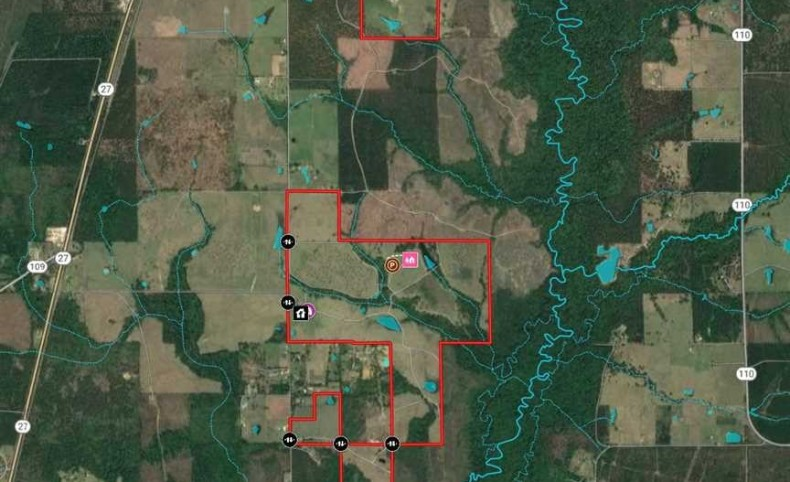 572 Acres, Smokey Cove Road Cattle / High-Fence Ranch, Beauregard Parish