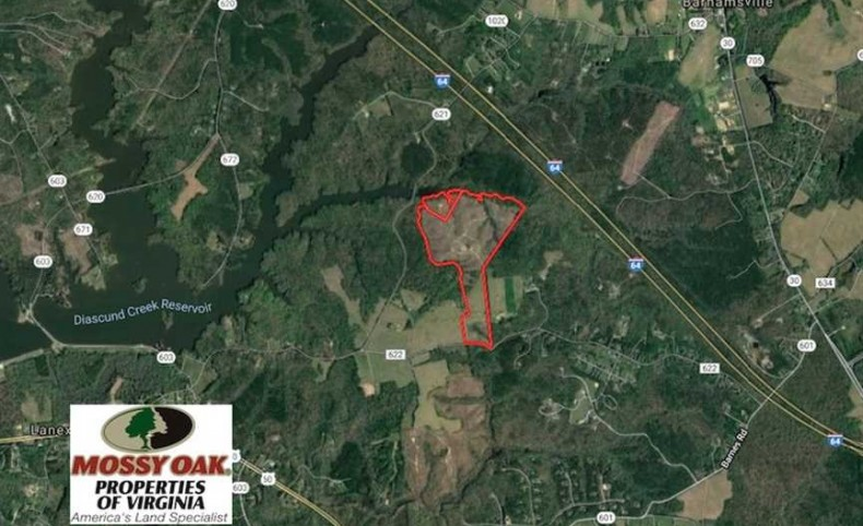 118 Acres of Residential Hunting Land For Sale in James City County VA!