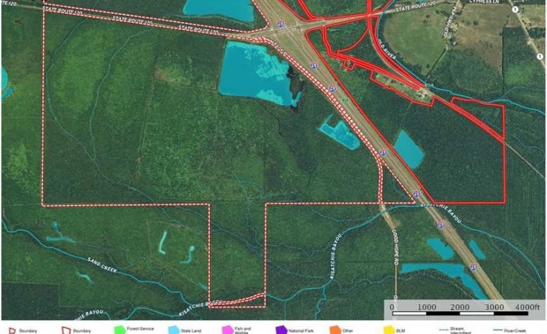 Cypress Tract, Natchitoches Parish, 1180 Acres +/-