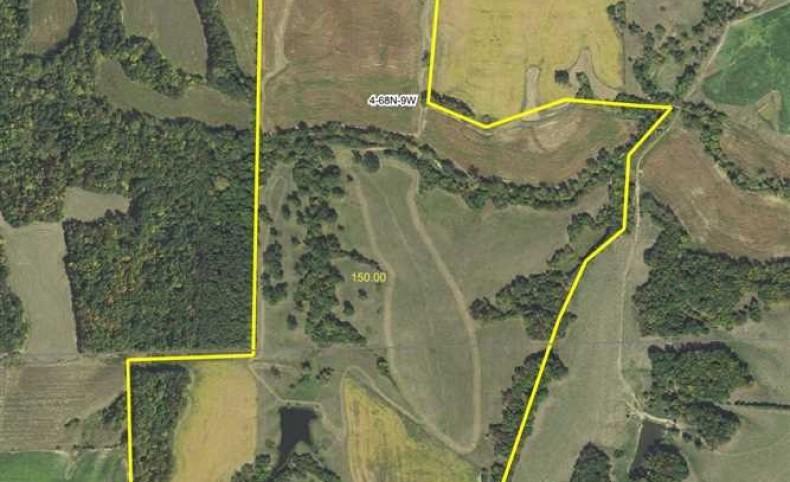 149.53 acres Farmland in Van Buren County