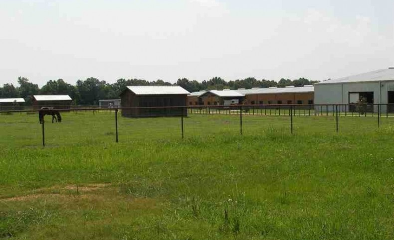 Horse Training Ranch for Sale in Monroe County, MS