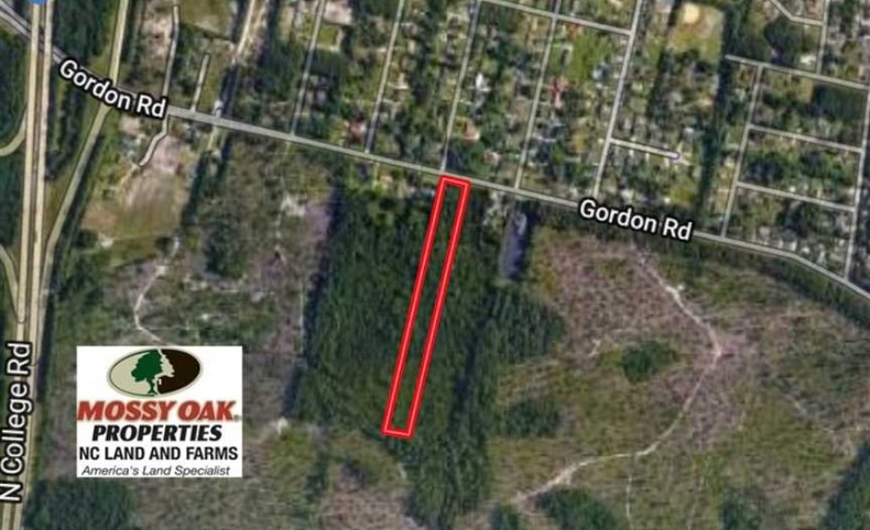 14 Acres of Residential Development Land For Sale in New Hanover County NC!