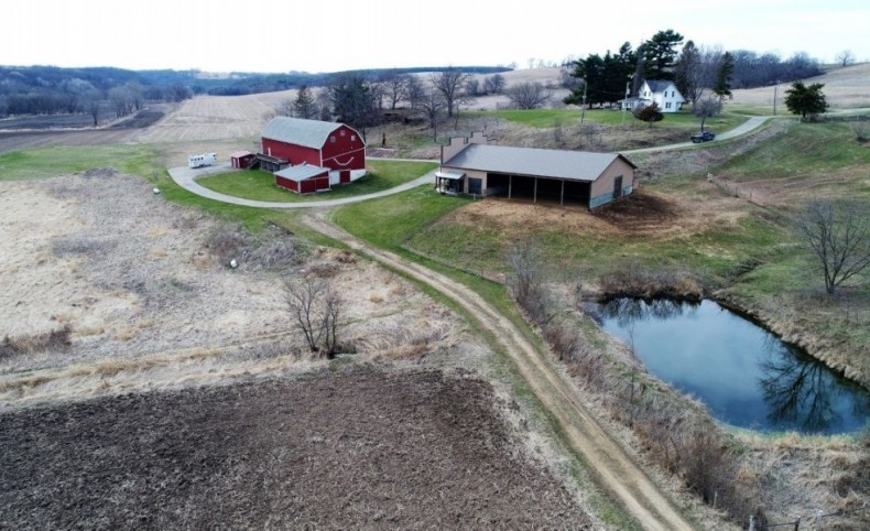 265 Acre Turn-Key Equestrian Property For Sale in Hollandale, WI