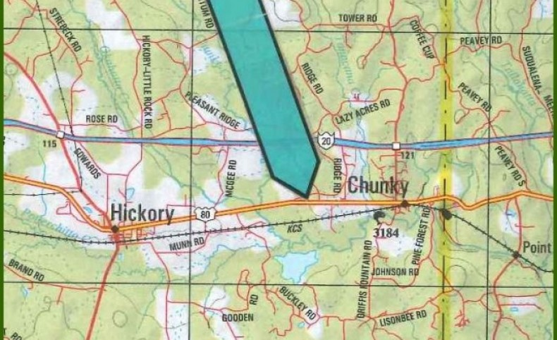 267 Acres in Newton County in Newton, MS