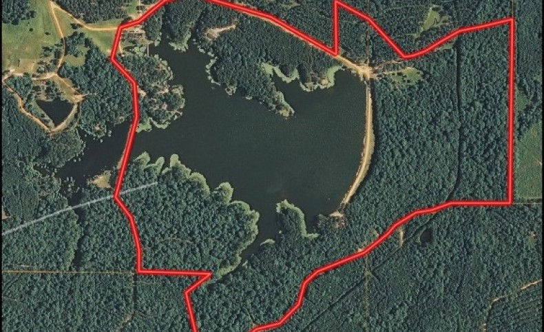 182 Acres with a Home in Rankin County at 200 Springwater Ranch Road in Brandon, MS