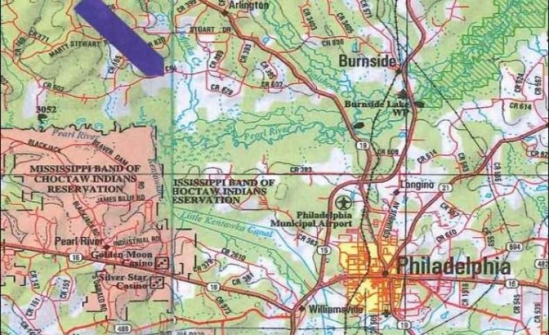 622 Acres in Neshoba County in Philadelphia, MS