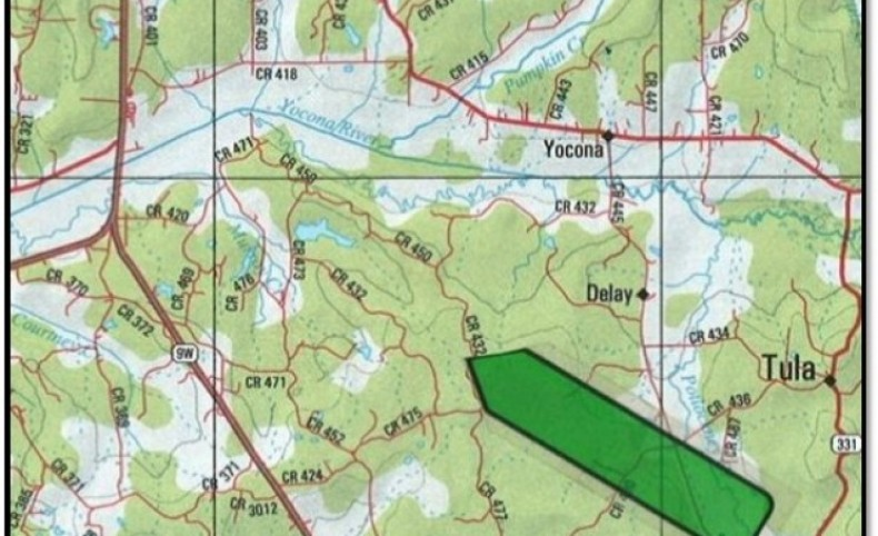 336 Acres in Lafayette County in Oxford, MS