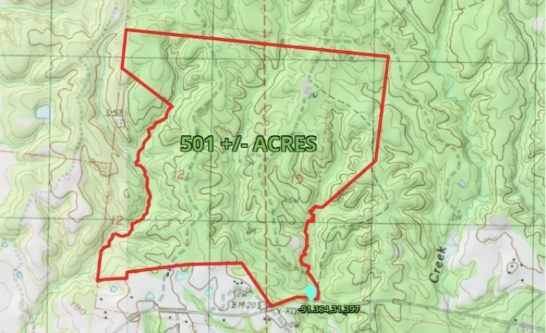 501 Acres in Adams County in Natchez, MS