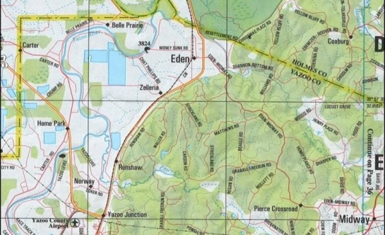 311 Acres in Yazoo County in Yazoo City, MS