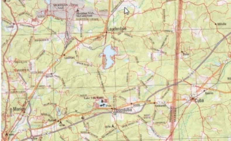 350 Acres with Home in Lauderdale County at 10853 Charlie Johnson Road in Lauderdale, MS