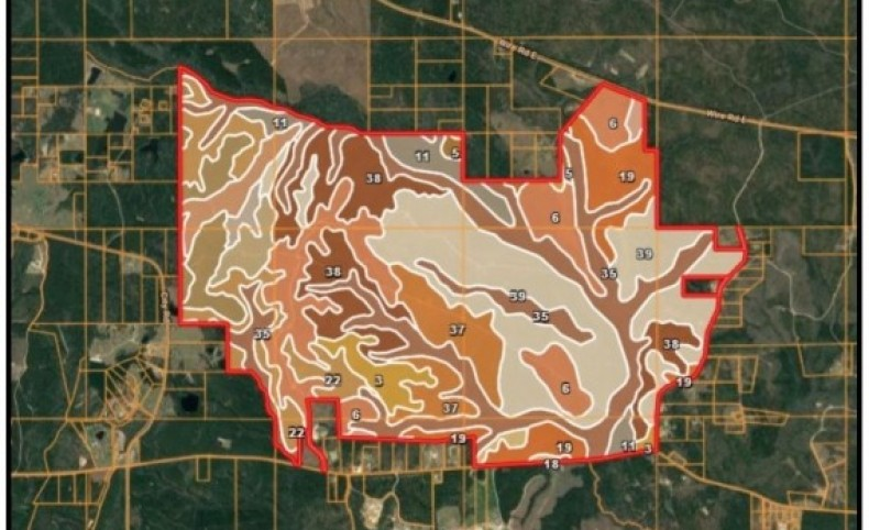 2,644 Acres in Stone County in Perkinston, MS