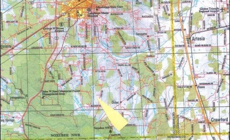 217 Acres in Oktibbeha County in Starkville, MS