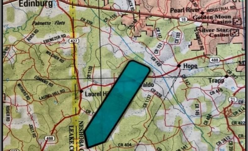 523 Acres in Neshoba County in Philadelphia, MS