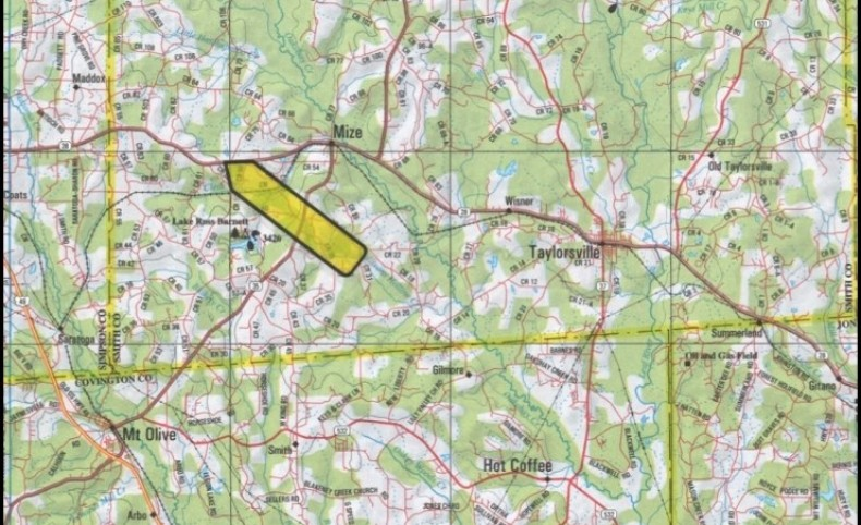 49 Acres with 4 Chicken Houses in Smith County in Mize, MS