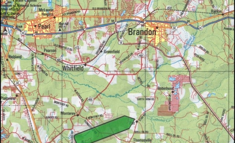 265 Acres in Rankin County in Florence, MS