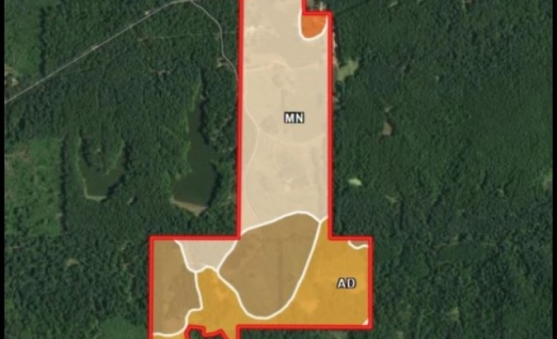 215 Acres with a Lodge in Hinds County in Edwards, MS