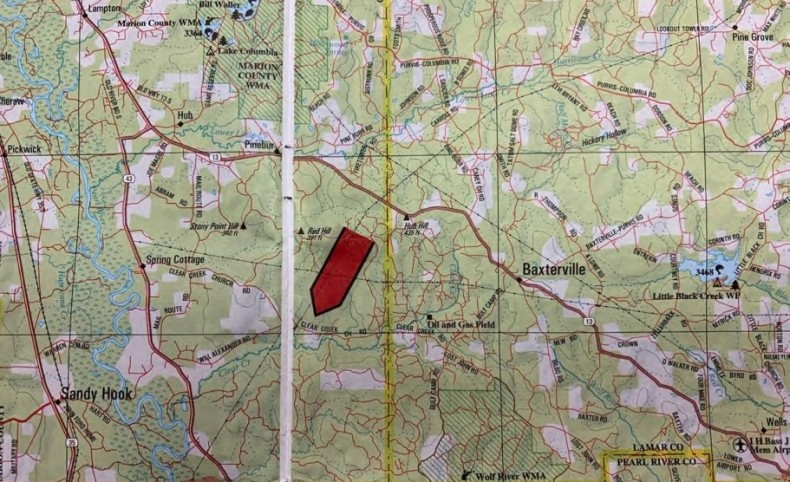 480 Acres in Marion County in Columbia, MS