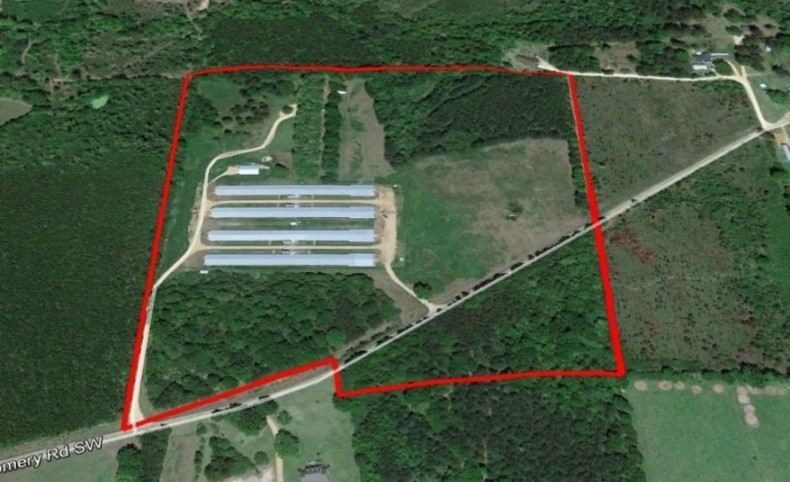 Poultry Broiler Farm 40 Acres SW MS