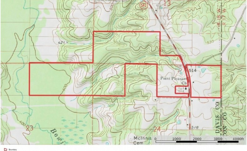 280 Acres Hunting Land for Sale South MS, Jefferson Davis Co