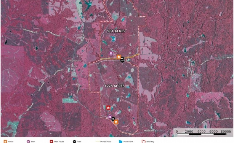 Mississippi Hunting Property for Sale Wilkinson County MS