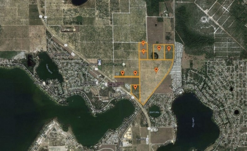 212 +/- Acres of Mixed-Use Land