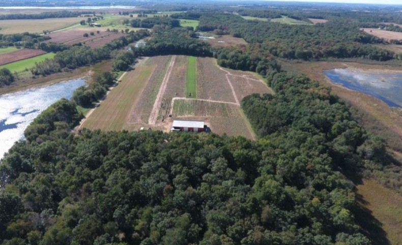 80 Acres of Columbia County Land with Water Frontage, Shed & Beautiful Home Site