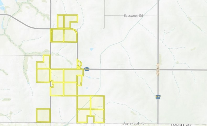 Farmland - 523 acres m/l Pottawattamie County Iowa