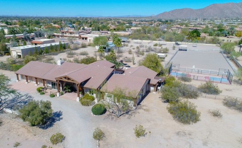 Scottsdale Equestrian Estate - 5 Acres in Central Scottsdale