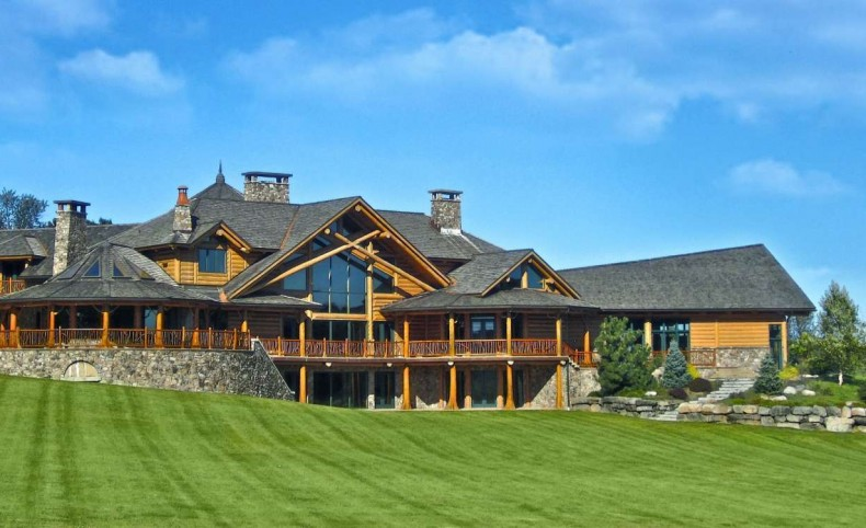 Magnificent Timber Built Estate