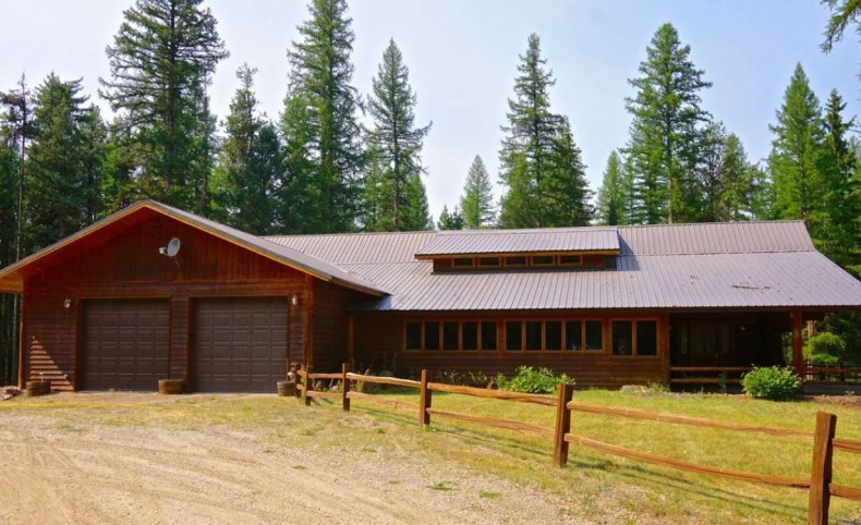Buck Creek Log Home