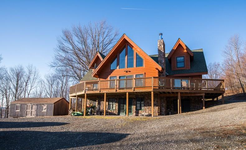 Covington Log Home