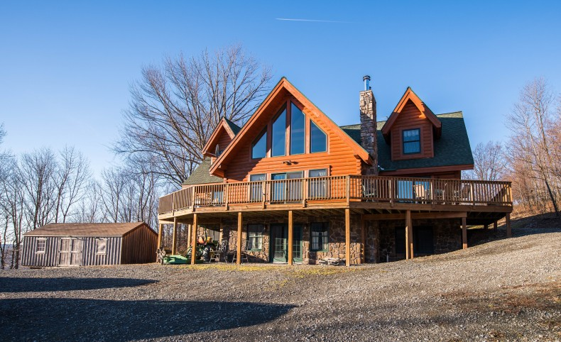 Covington Log Home