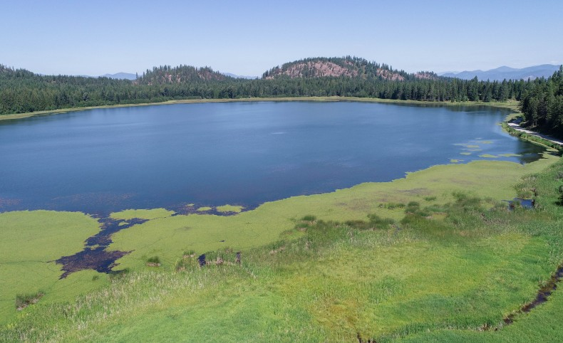 Private lake on 411 acres