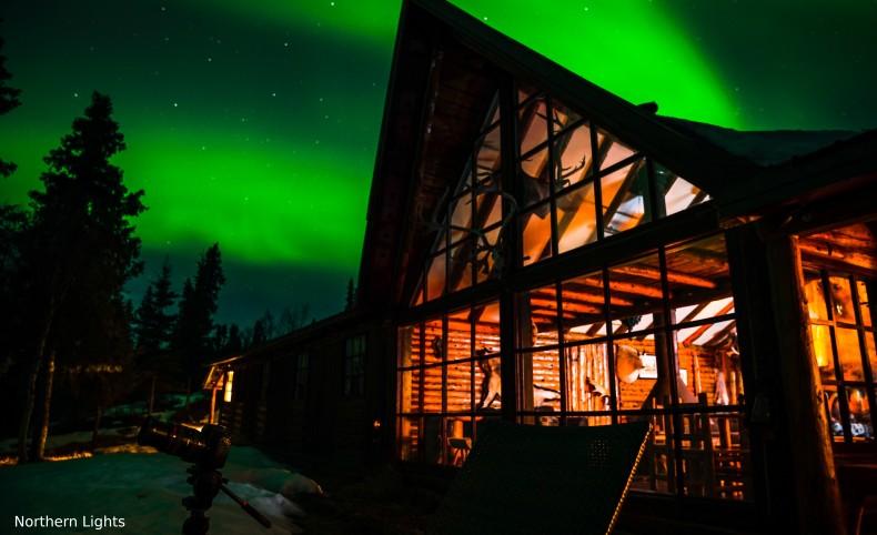 Stephan Lake Lodge