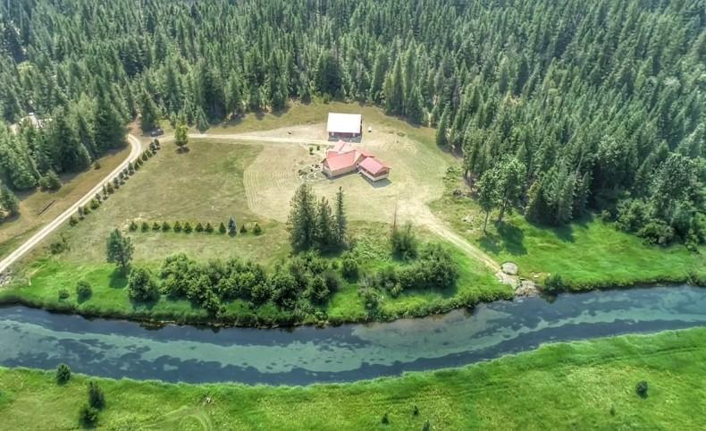 Pristine Bull River Frontage w/ Home